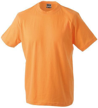 Kinder Basic T-Shirt ~ orange XS