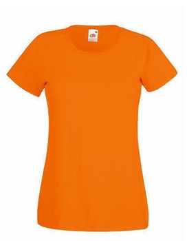 Damen T-Shirt  ~ Orange M