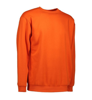 Klassisches Sweatshirt ~ Orange 4XL