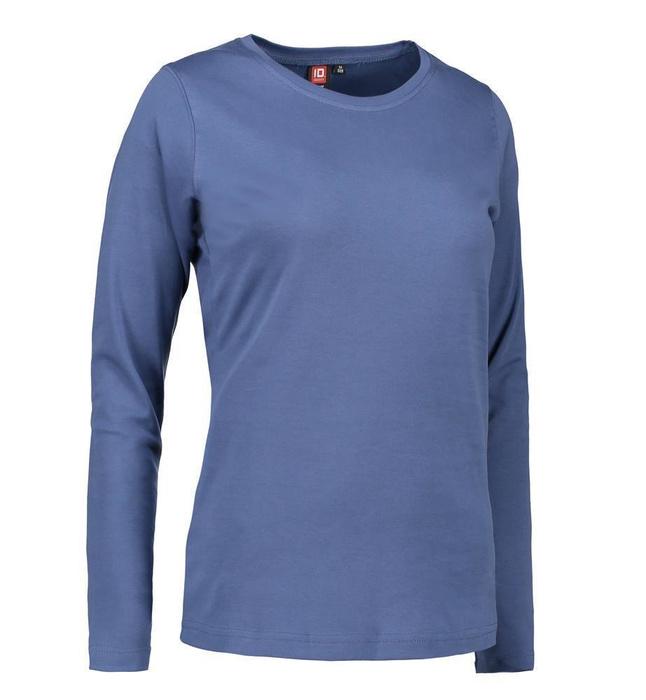 Interlock Damen T-Shirt langarm ID 0509