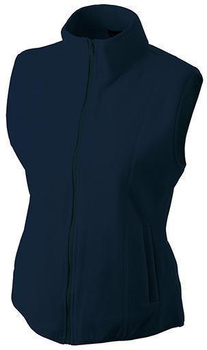 Damen Fleece Weste ~ navy XXL