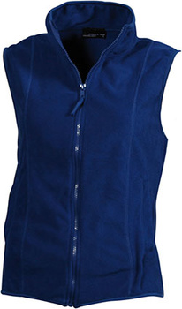 Damen Fleece Weste ~ royal M
