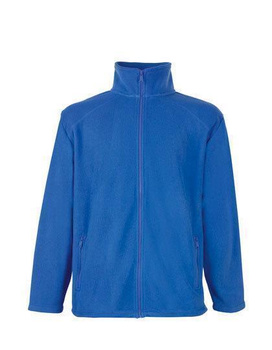 Fleecejacke von Fruit of the Loom ~ royal blau XXL