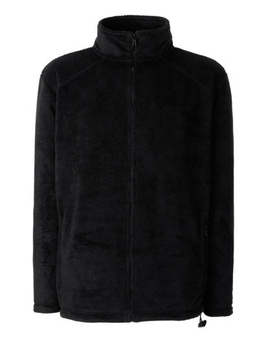 Fleecejacke von Fruit of the Loom ~ schwarz XXL