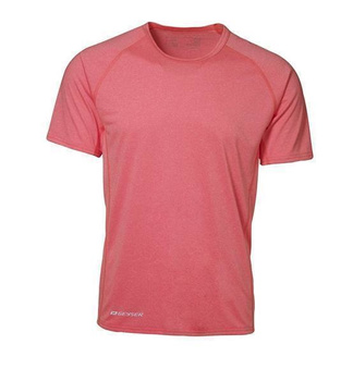 Herren Active Laufshirt ~ Orange melange 3XL