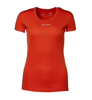 Woman Active S/S T-shirt ~ Orange XS