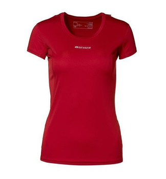 Woman Active S/S T-shirt ~ Rot XL