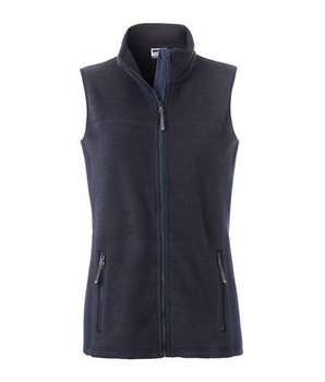 Damen Arbeits- Fleece Weste ~ navy/navy S