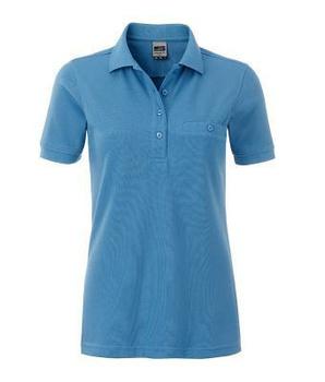 09d09834412a Damen Arbeits-Poloshirt mit Brusttasche - XS bis 4XLJN867