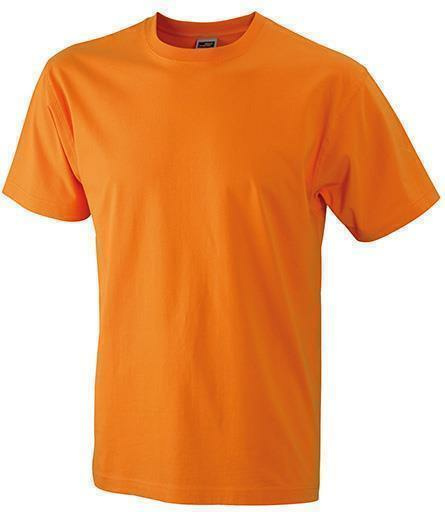 strapazierf higes herren arbeits t shirt orange xl. Black Bedroom Furniture Sets. Home Design Ideas