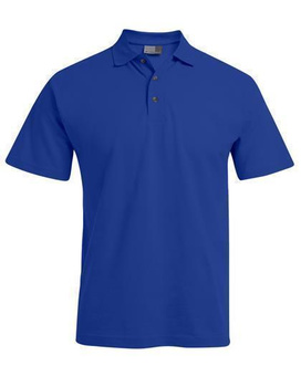 Herren Heavy Polohemd ~ royal XL