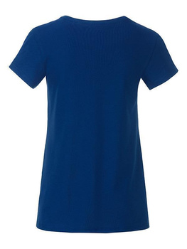 Girls Basic-T ~ dunkel royalblau L