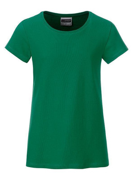 Girls Basic-T ~ irish-grün XXL