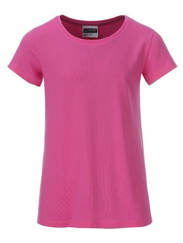 Girls Basic-T ~ pink XL
