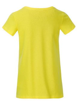 Girls Basic-T ~ gelb XXL