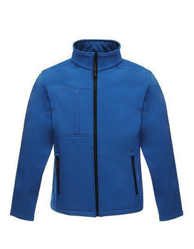 Herren Softshell Jacket - Octagon II ~ Oxford Blau/Schwarz 3XL