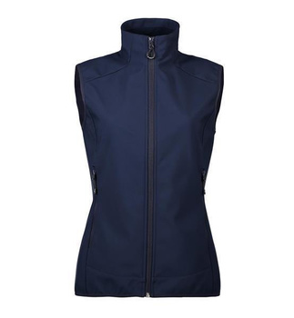 Funktionelle Damen Softshell Weste ~ Navy XL