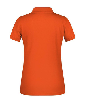 Damen BIO Arbeits Poloshirt ~ orange 3XL