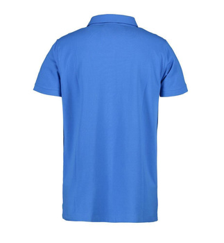 Business Herren Poloshirt | Stretch ~ Azur XL