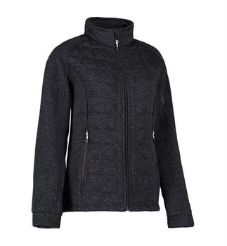 Gesteppte Fleece Damen-Jacke ID 0827